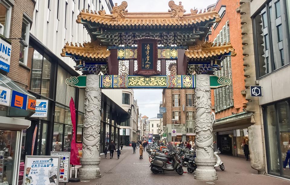Bereikbaarheid Chinatown Den Haag