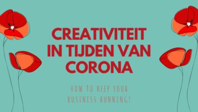 Creativiteit in tijden van corona