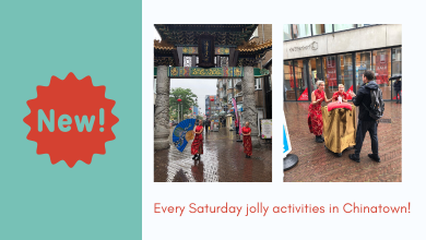 Jolly activities in Chinatown