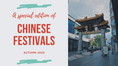 Chinese festivals in de herfst en winter van 2020