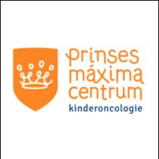 Logo van het Prinses Máxima Centrum voor kinderoncologie