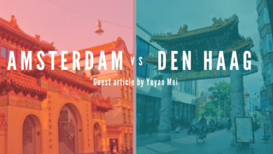 From Amsterdam's Cantonese wonderland to The Hague's multicultural spaces by Yuyao Mei
